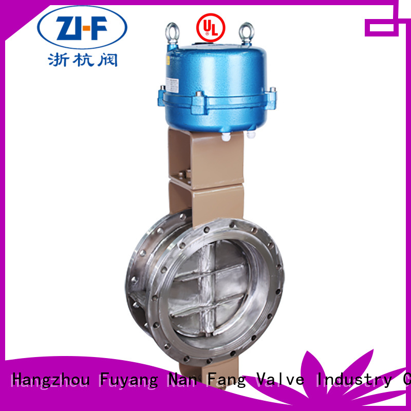 Nanfang electric butterfly valve valve pipelines Transportation