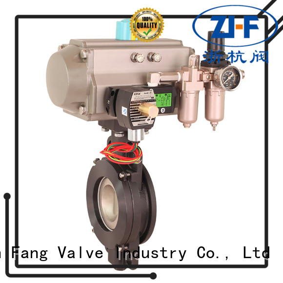 Nanfang custom automated butterfly valve manufacturer new energy