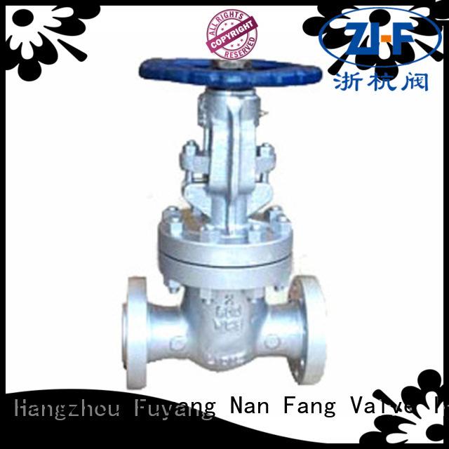 Nanfang oem hand operated gate valve manufacturer chemical fiber