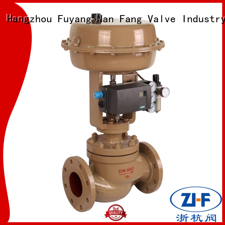Nanfang high pressure cage type control valve metallurgy