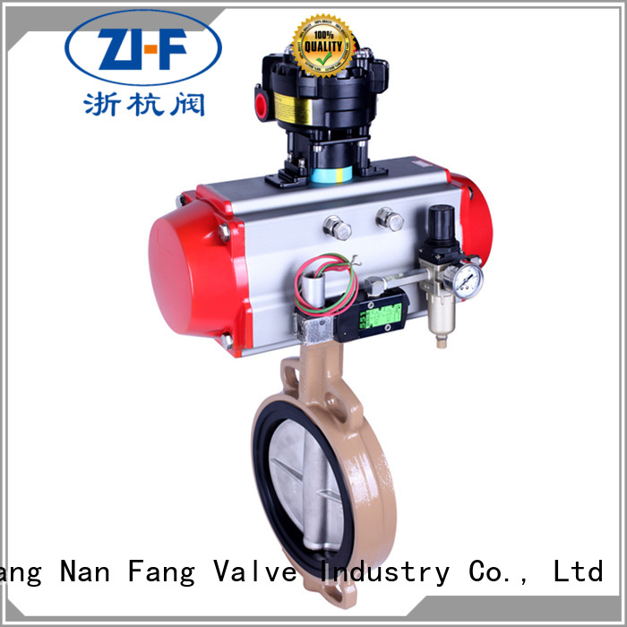 china electric actuated butterfly valve supplier papermaking