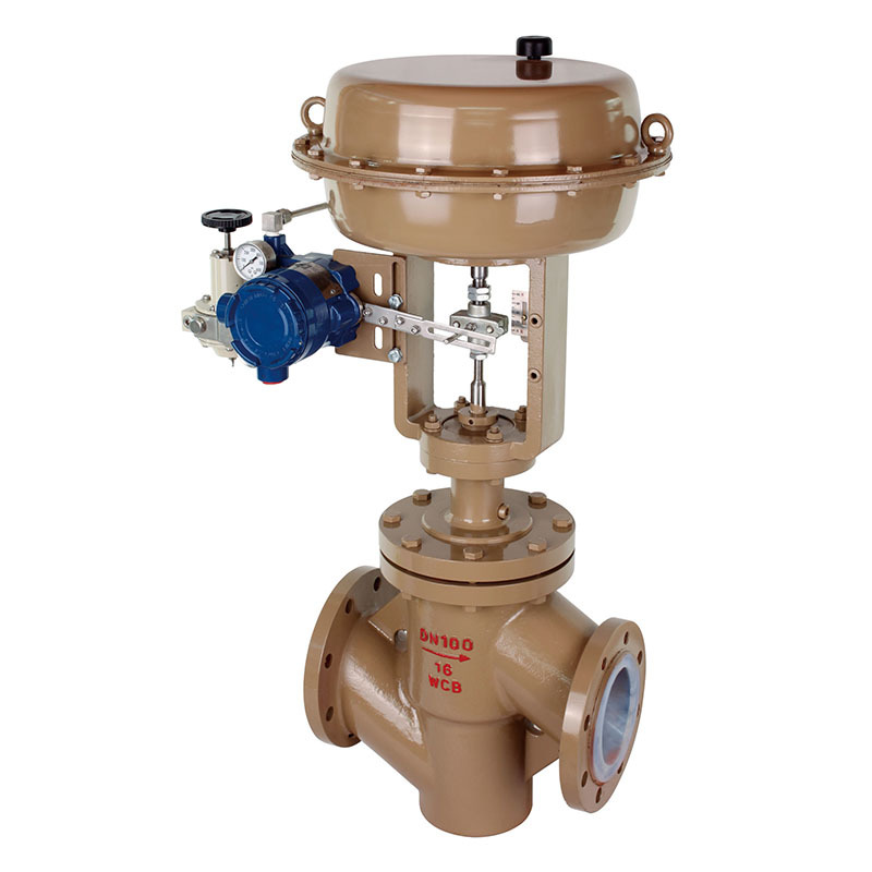 Pressure Control Valve T211F Series Single Seated Fluorine Lined Control Valve