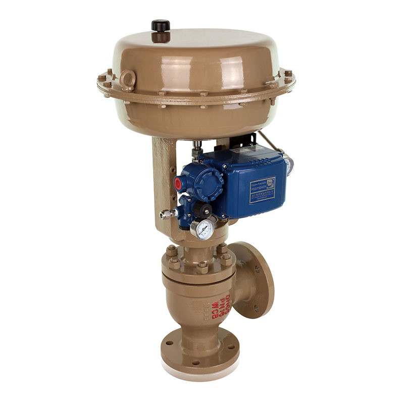 Pressure Control Valve T212S Series Single Seated Angle Control Valve