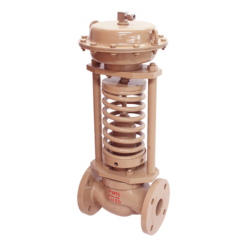 self acting control valve & flange