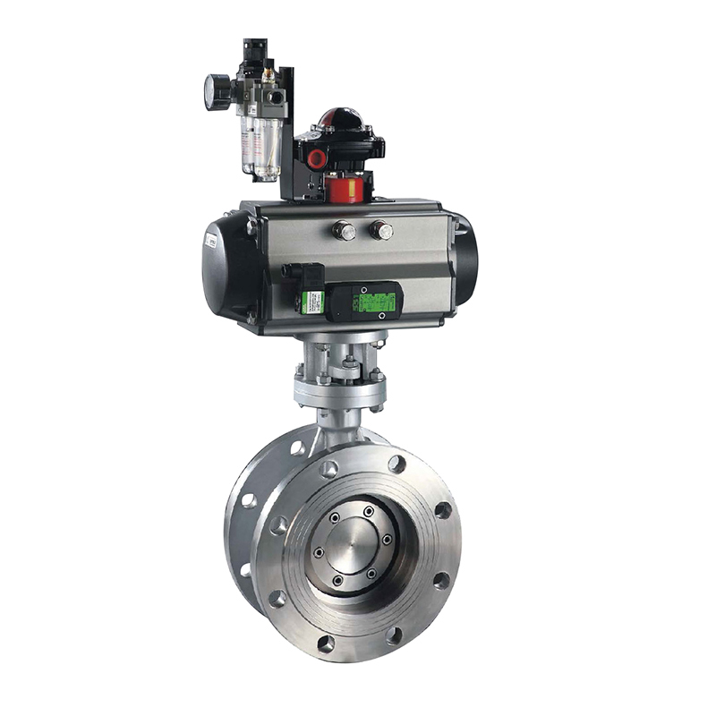 Triple Offset Butterfly Valve with Manual/ Pneumatic / Electric Actutaor