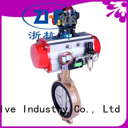 Nanfang oem motorised butterfly valve machine papermaking