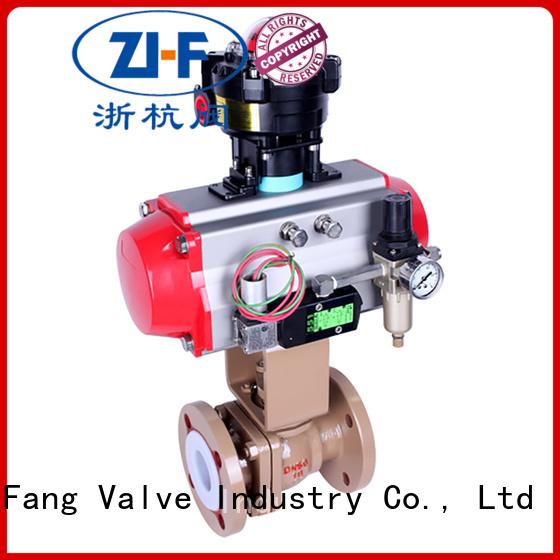 Nanfang motorized ball valve supplier global oil refining