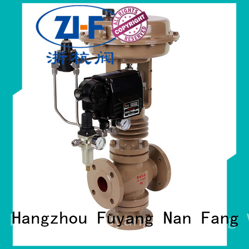 Nanfang mechanical cage type control valve valve metallurgy