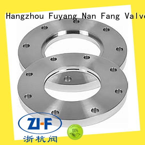 Nanfang oem custom flange valve papermaking