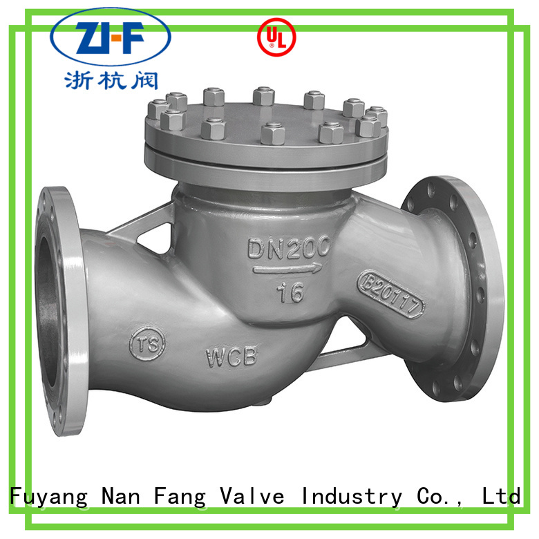 Nanfang globe industrial check valve manufacturer coal chemical industry