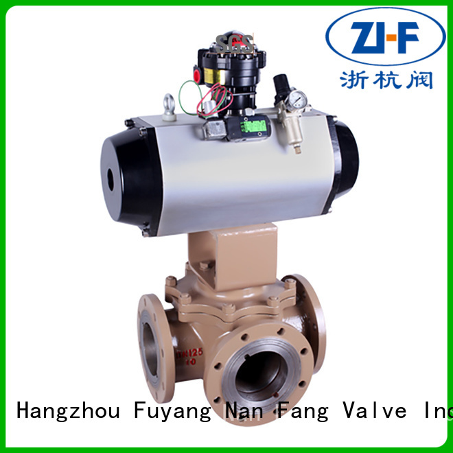 Nanfang motorized ball valve tool industry