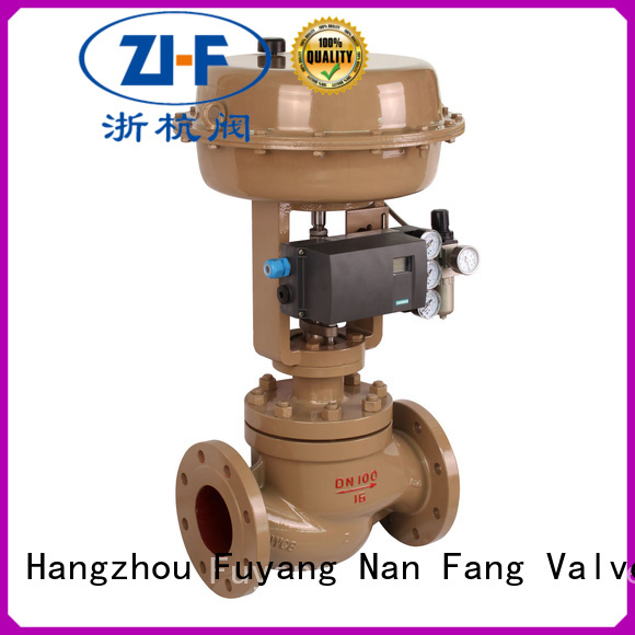 Nanfang pneumatic cage type control valve machine pipelines Transportation
