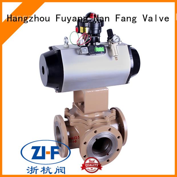 Nanfang industrial motorised ball valve manufacturer coal chemical