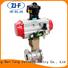 Nanfang electric actuated ball valve tool chemical fiber