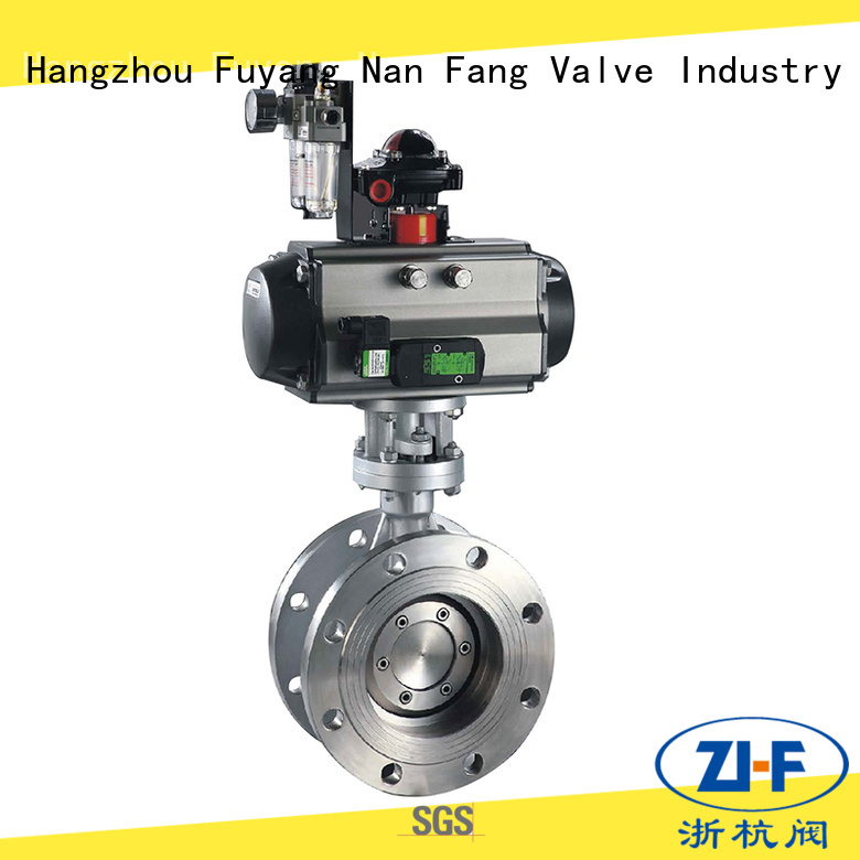custom motorized butterfly valve manufacturer papermaking