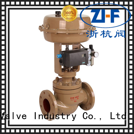 Nanfang pneumatic cage type control valve valve papermaking