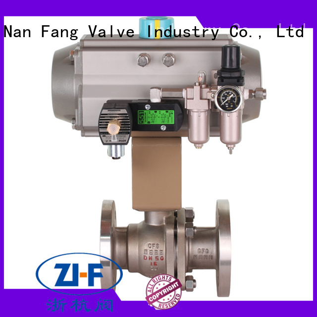 mechanical automated ball valve manufacturer LNG