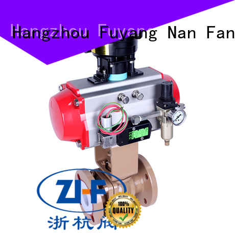 automated ball valve supplier chemical fiber