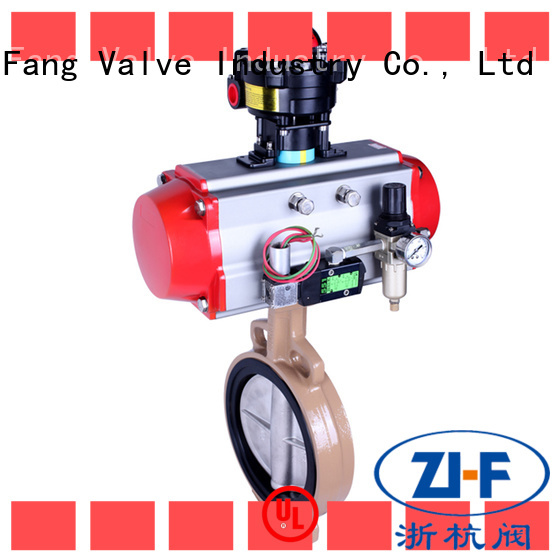 custom motor butterfly valve supplier pipelines Transportation