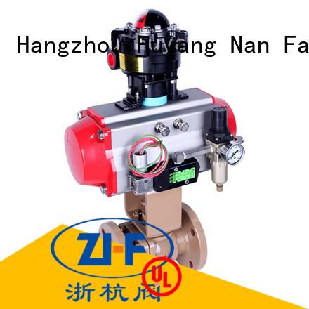 Nanfang air actuated ball valves supplier fine chemicals