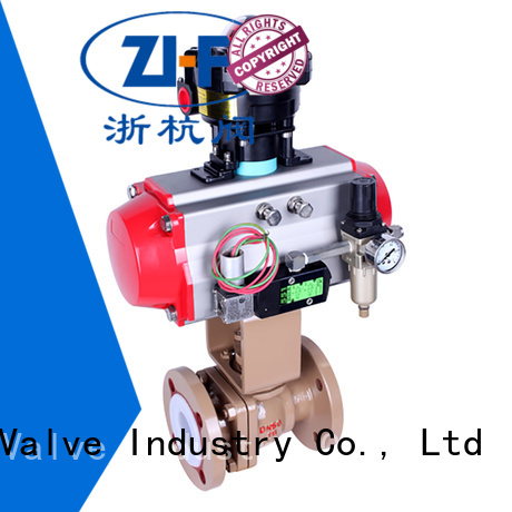 pneumatic actuated ball valve machine LNG