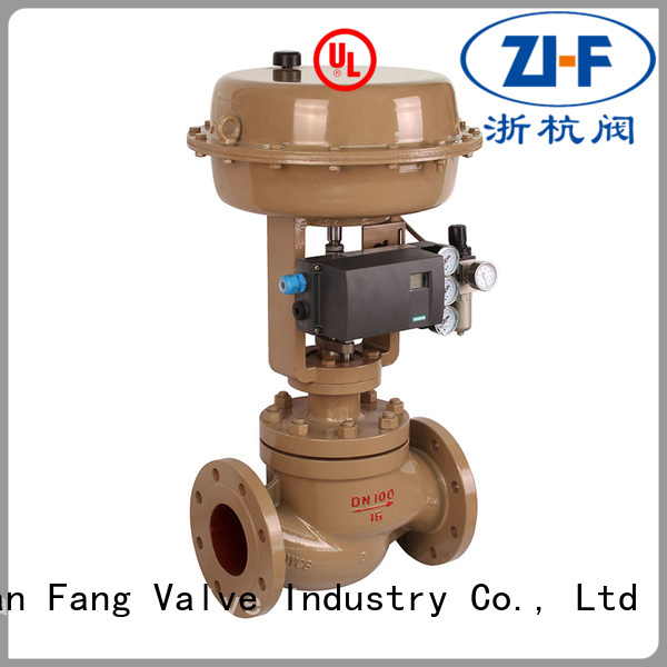 chilled water control valve