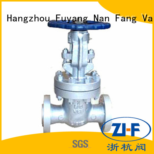 Nanfang best hand operated gate valve supplier coal chemical industry