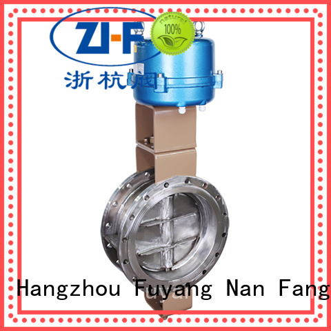 Nanfang custom electric butterfly valve tool papermaking