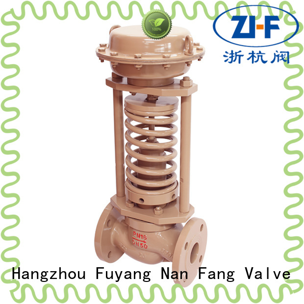 mechanical self actuated the control valve manufacturer coal chemical industry