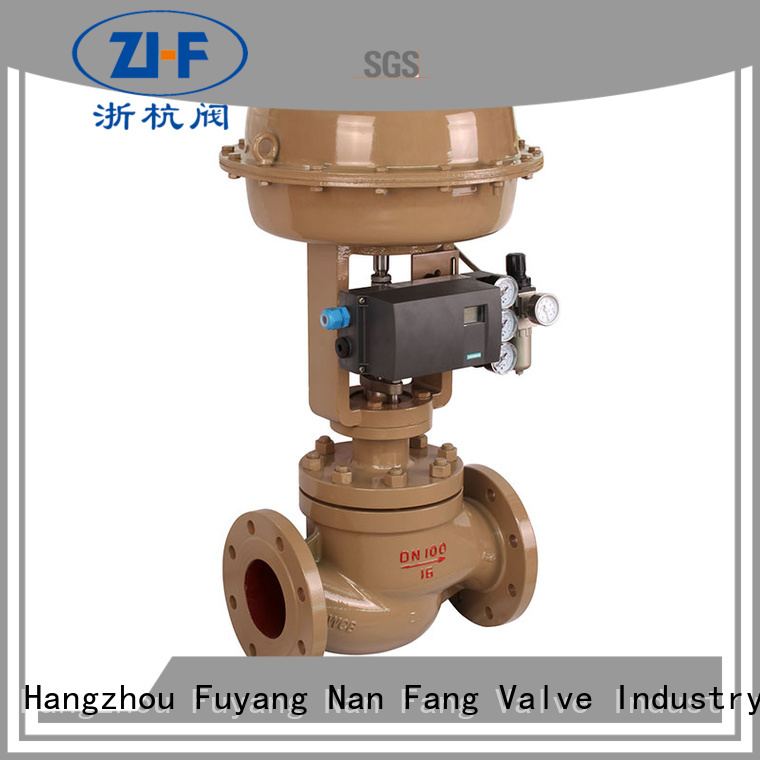 Nanfang industrial cage type control valve supplier new energy