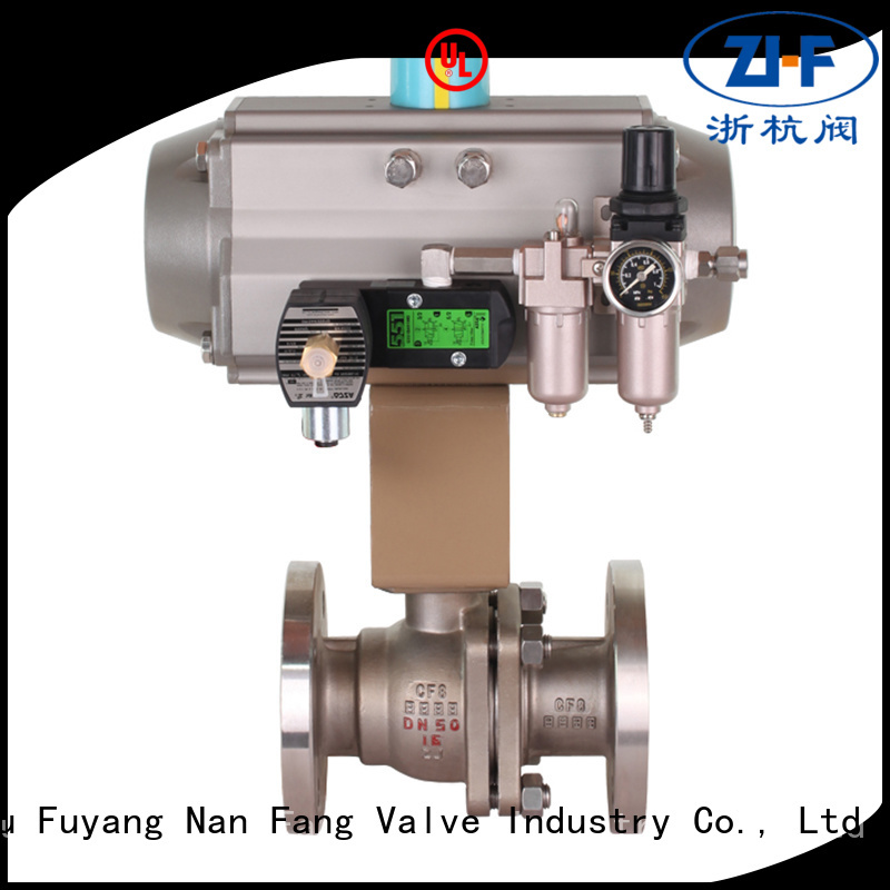 Nanfang safe automatic ball valve supplier industry