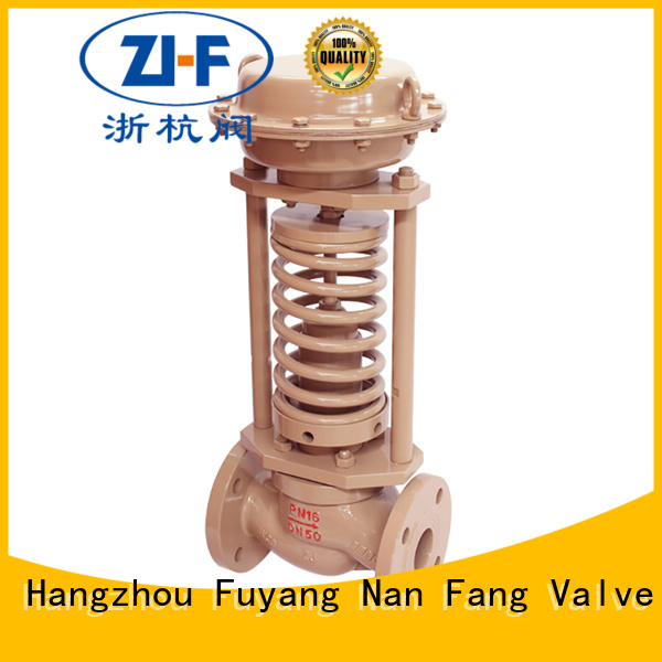 Nanfang self self actuated the control valve supplier metallurgy