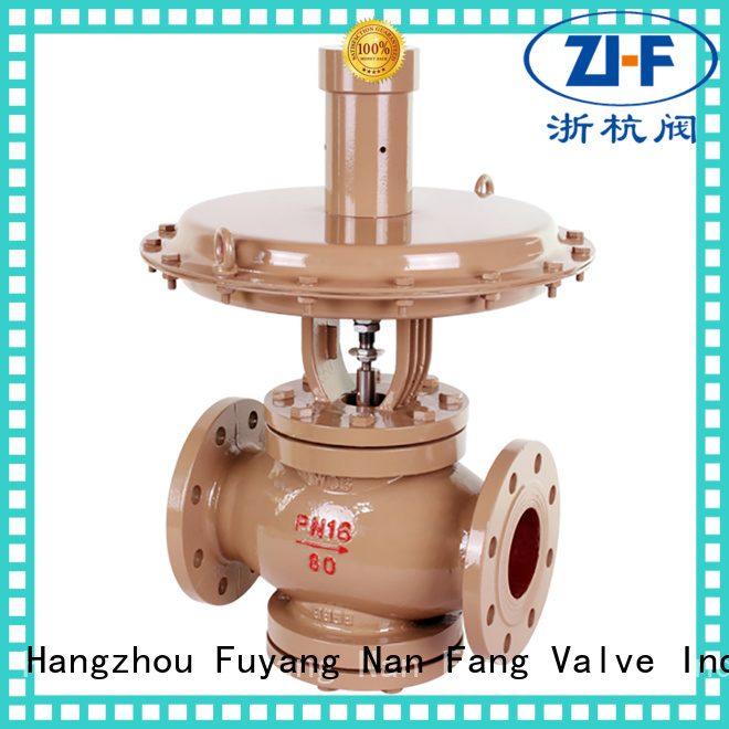 Nanfang self actuated the control valve supplier pipelines Transportation
