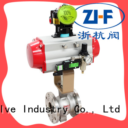 motorized electric actuated ball valve manufacturer LNG