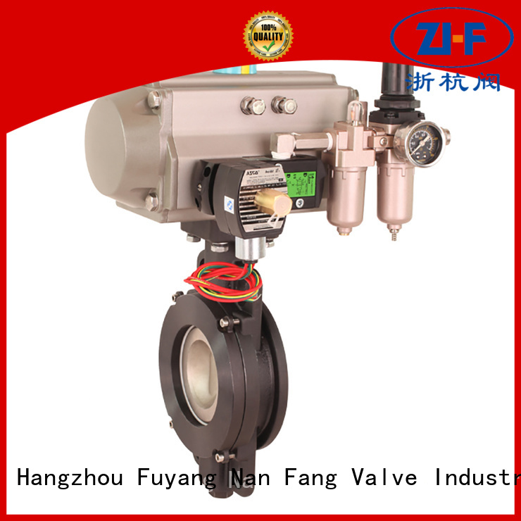 Nanfang automated butterfly valve machine pipelines Transportation
