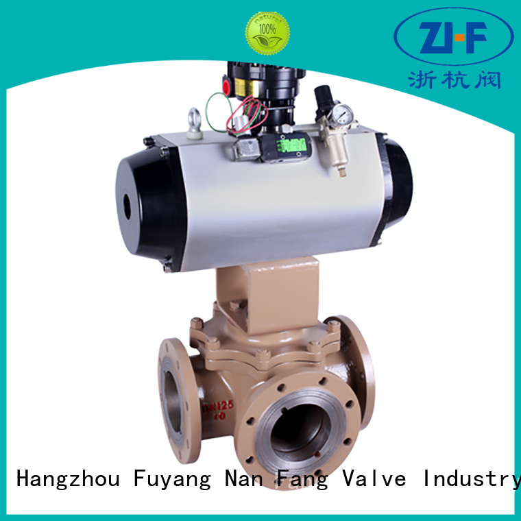Nanfang automatic ball valve manufacturer chemical fiber