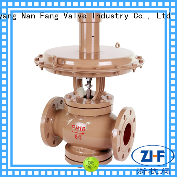 Nanfang mechanical self regulating control valve manufacturer chemical fiber