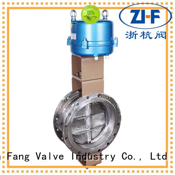 pneumatic butterfly valve supplier LNG Nanfang