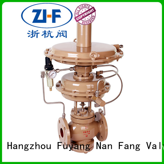 Nanfang self self regulating control valve LNG