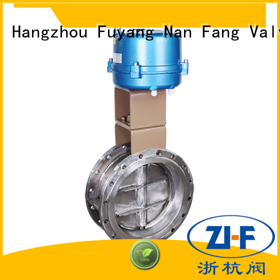 Nanfang china butterfly motorized valve tool papermaking