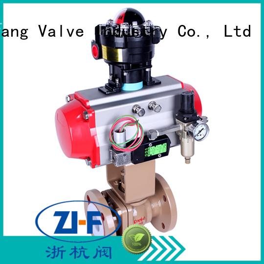 Nanfang motorised ball valve supplier chemical fiber