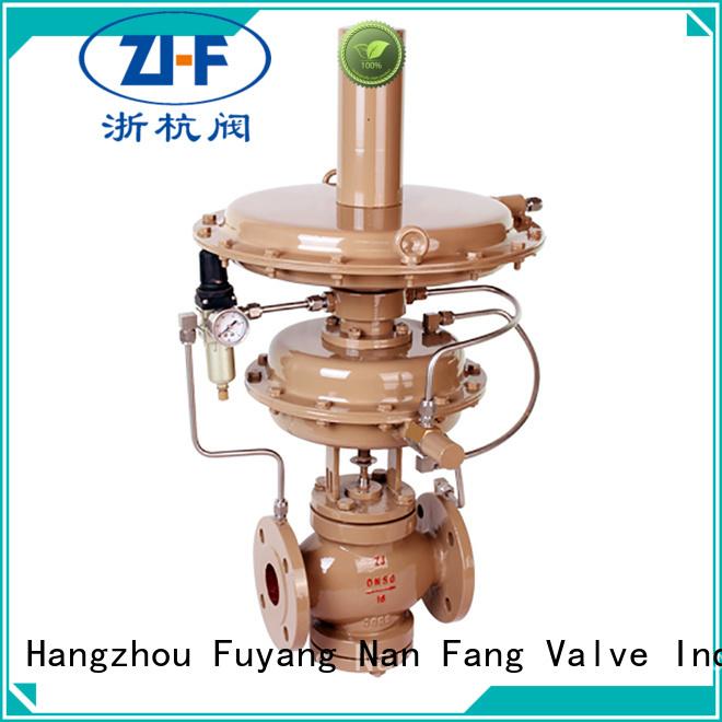 Nanfang pneumatic self acting control valve chemical fiber