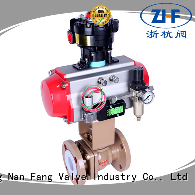 Nanfang automated ball valve machine global oil refining