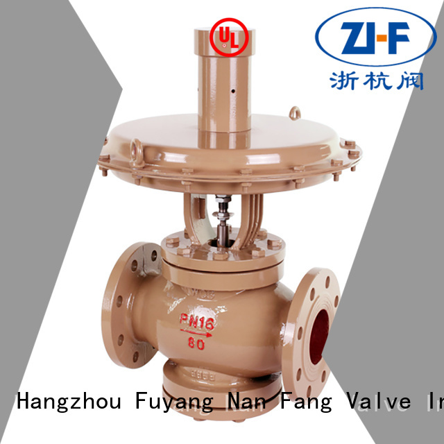 mechanical self regulating control valve LNG