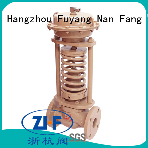 Nanfang mechanical self acting control valve machine electricity