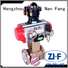 Nanfang air actuated ball valves machine fine chemicals