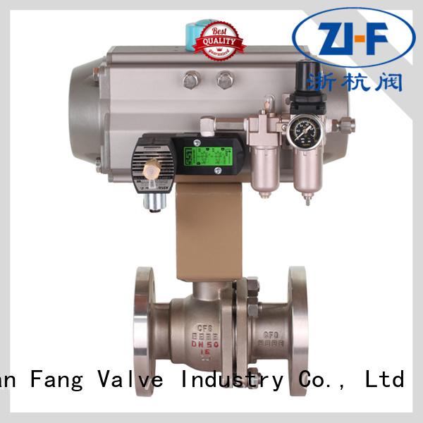 mechanical pneumatic actuated ball valve machine coal chemical