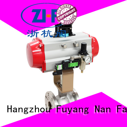 Nanfang safe air actuated ball valves supplier industry