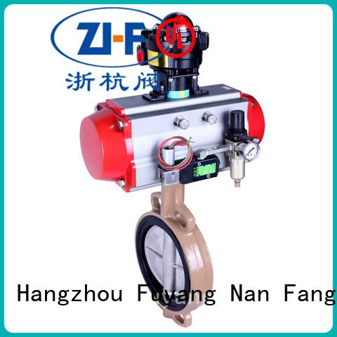 Nanfang motorized butterfly valve machine new energy