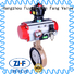 Electric butterfly motorized valve manufacturer electricity
